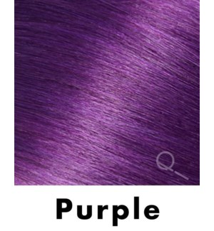 """Tape-in Hair Extensions, Color #PURPLE, 18"""" Long, Straight, 4pcs"""