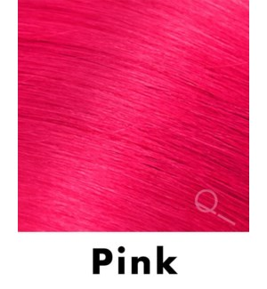 """Tape-in Hair Extensions, Color #PINK, 18"""" Long, Straight, 4pcs"""