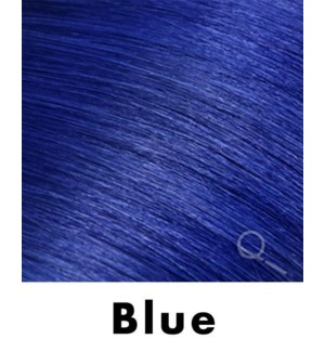 """Tape-in Hair Extensions, Color #BLUE, 18"""" Long, Straight, 4pcs"""