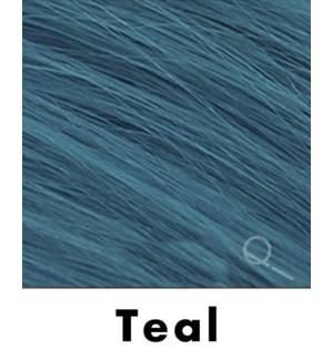 """Tape-in Hair Extensions, Color #TEAL, 18"""" Long, Straight, 4pcs"""