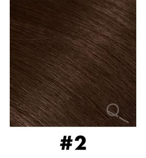 """Tape-in Hair Extensions, Color #2, 22"""" Long, Straight, 10pcs"""