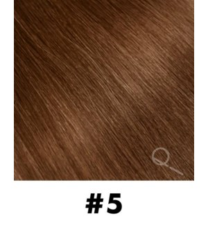 """Tape-in Hair Extensions, Color #5, 22"""" Long, Straight, 10pcs"""