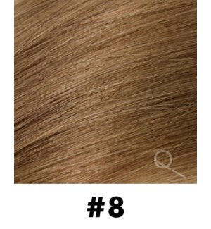"""Tape-in Hair Extensions, Color #8, 22"""" Long, Straight, 10pcs"""