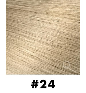"""Tape-in Hair Extensions, Color #24, 22"""" Long, Straight, 10pcs"""
