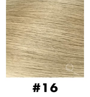 """Tape-in Hair Extensions, Color #16, 14"""" Long, Straight, 10pcs"""
