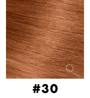 """Tape-in Hair Extensions, Color #30, 14"""" Long, Straight, 10pcs"""