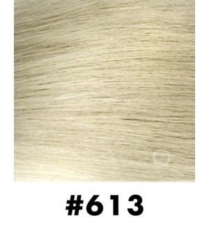 """Tape-in Hair Extensions, Color #613, 14"""" Long, Straight, 10pcs"""