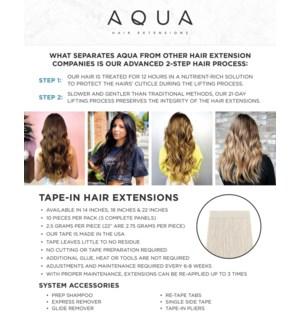 Aqua Hair Extensions Certification Class Kit