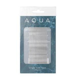 Aqua Single Side Tape (36pc)
