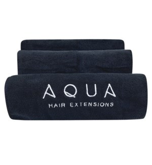 Aqua Microfiber Towels (3/pk)