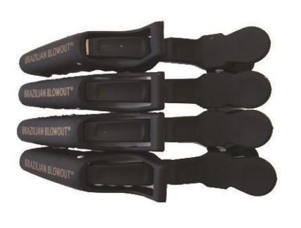 4pk BB hair clips
