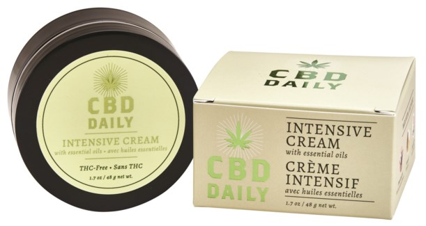 CBD Daily Intensive Cream Intro