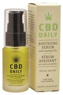 CBD Soothing Serum intro
