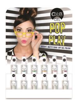 Pop Play 12 pce Gel Display