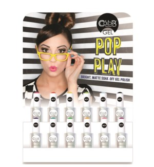 Pop Play 12 pce Gel Display