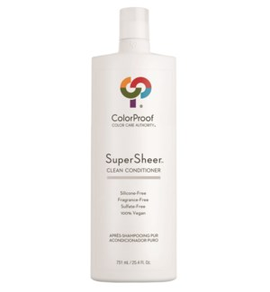 SuperSheer Clean Conditioner 25.4oz