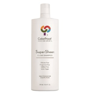 SuperSheer Clean Shampoo 25.4oz