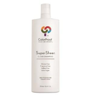SuperSheer Clean Shampoo 25.4oz