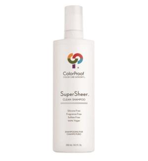 SuperSheer Clean Shampoo 8.5oz