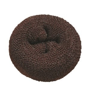Hair Donut 3.5'' (3pk) - Brown