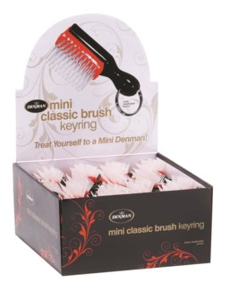 Denman Mini Classic Brush, 48 pc Display