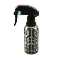 Spray Bottle Tartan - black