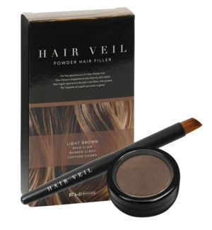 Hair Veil Light Brown