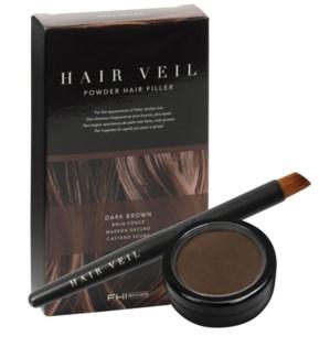 Hair Veil Dark Brown