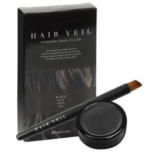 Hair Veil Black