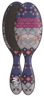 Ugly Sweater Cat Wet Brush