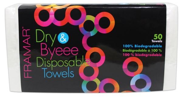 Dry & Byeee Towels 50ct