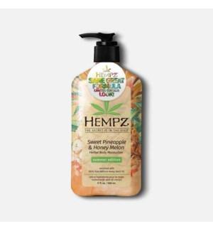 Hempz LE Summer Sweet Pineapple Melon Moisturizer 17oz