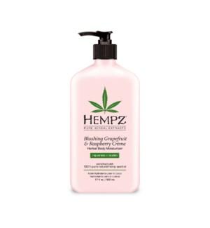 Hemps Grapefruit/Raspberry Moisturizer 17oz