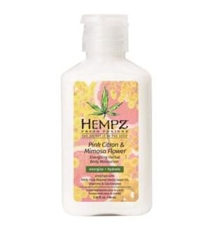Hempz Pink Citron and Mimosa Flower 2.25oz