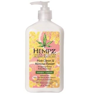 Hempz Pink Citron and Mimosa Flower 17oz