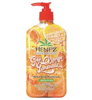 Hempz Goji Orange Lemonade Moisturizer 17 oz