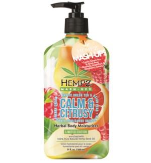Hempz Calm & Citrusy Herbal Body Moisturizer 17 oz