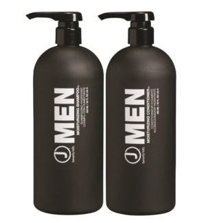 Men's Moisturizing Litre Duo