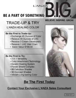L'ANZA TRADE UP AND TRY + COLOR WALL CHART
