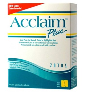 ACCLAIM ACID PLUS PERM REGULAR - white & green box
