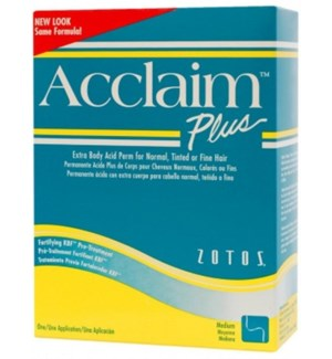 ACCLAIM ACID PLUS PERM X BODY - green & yellow box