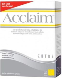 ACCLAIM ACID PERM REGULAR - white & yellow box