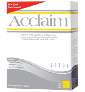 ACCLAIM ACID PERM REGULAR - white & yellow box