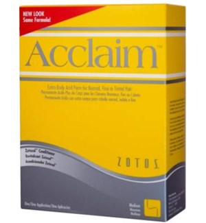 ACCLAIM ACID PERM XTRA BOD - yellow box
