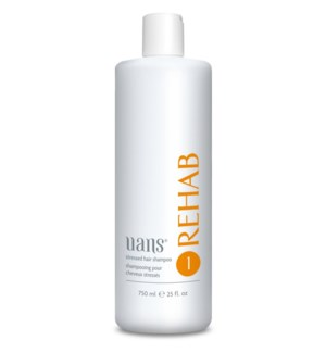 REHAB Stressed Hair Sham. 750 ml