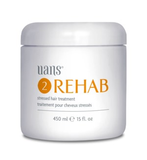 REHAB Stressed Hair Treat. 450 ml