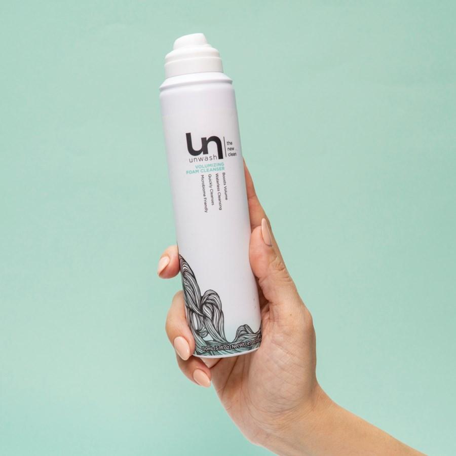 Unwash Volumizing Dry Cleanser Foam 5.1oz