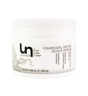 Unwash Charcoal Detox Scalp Scrub