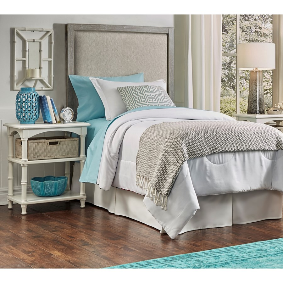 CHESAPEAKE TWIN UPHOLSTERED HEADBOARD - NVY