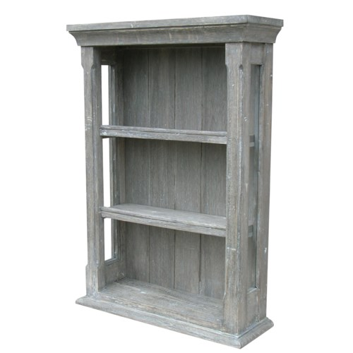 COTTAGE OPEN WALL CABINET - RW+